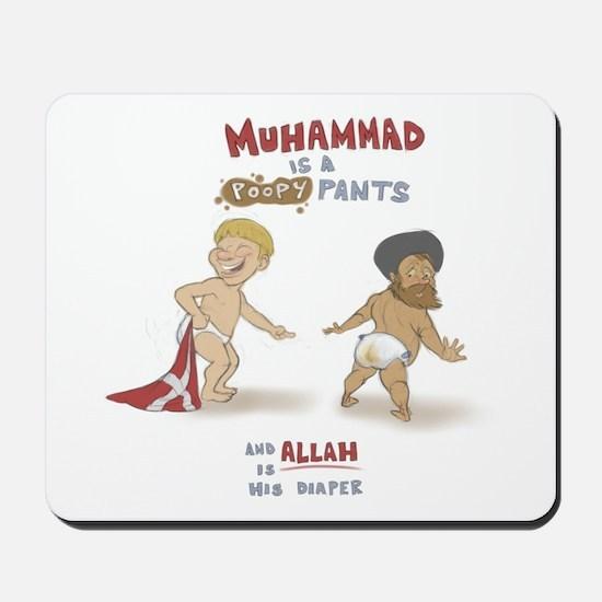 Poopy Muhammad Mousepad