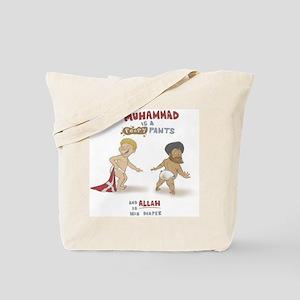 Poopy Muhammad Tote Bag