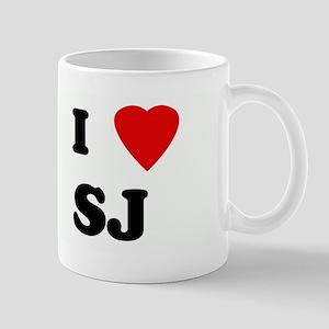 I Love SJ Mug
