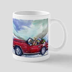 Christmas Airedale terrier Mug
