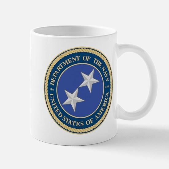Navy Rear Admiral Upper 1/2 Mug