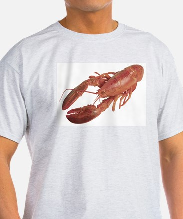 A Lobster on Your Ash Grey T-Shirt