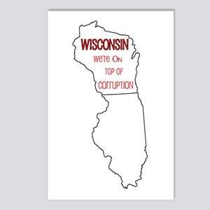 We're On Top Of It! Postcards (Package of 8)