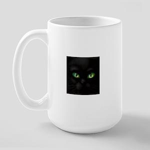 CAT EYES Large Mug