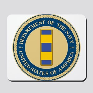 Navy Chief Warrant Officer 2 Mousepad