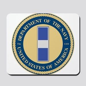 Navy Chief Warrant Officer 3 Mousepad