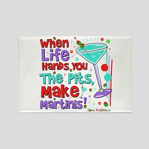 Make Martinis Rectangle Magnet