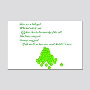 Flyball Get the Ball Mini Poster Print