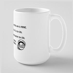 The Coffee Drinker's Creed Mug