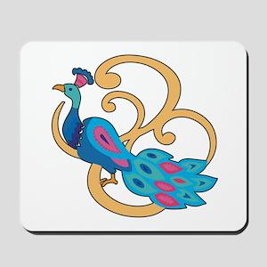 Pretty Peacock Four Mousepad