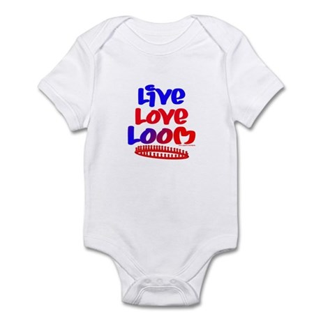 Live Love Loom Infant Bodysuit