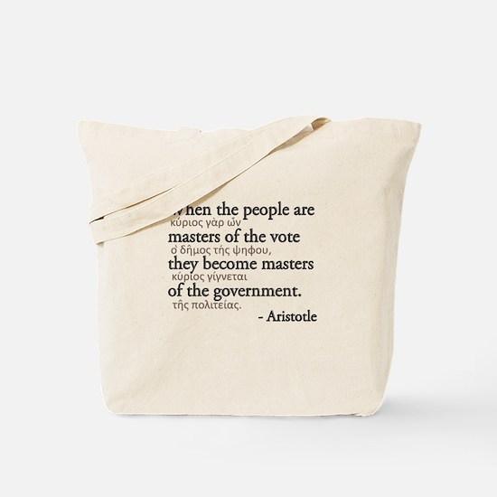 Master the Vote Tote Bag