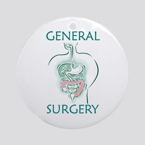 Gen Surg Team Ornament (Round)