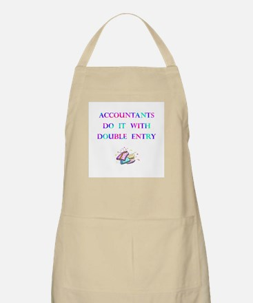 Accountants Gift BBQ Apron