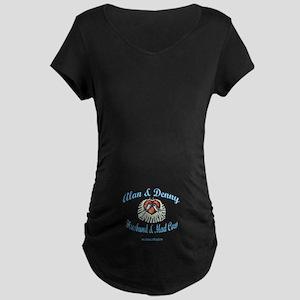 HUSBAND MAD COW 2 Maternity Dark T-Shirt