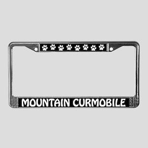 Mountain Curmobile License Plate Frame