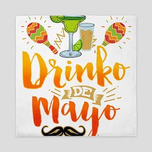 Drinko De Mayo Illustration Cinco de M Queen Duvet