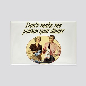 Poison Dinner - Rectangle Magnet