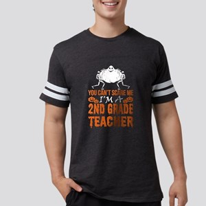 You Cant Scare 2nd Grade Teacher Ghost Hal T-Shirt