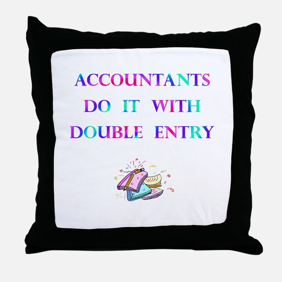 Accountants Gift Throw Pillow