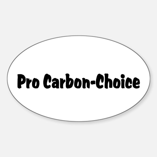 CO2 Heretic Oval Decal