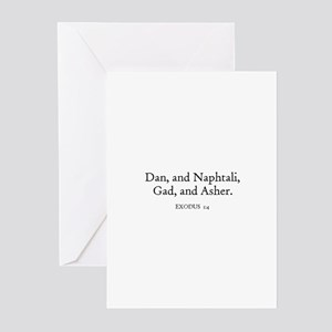 EXODUS  1:4 Greeting Cards (Pk of 10)