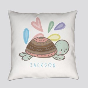 Baby Turtle Personalized Everyday Pillow