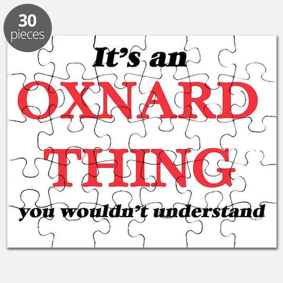 It's an Oxnard California thing, you wo Puzzle
