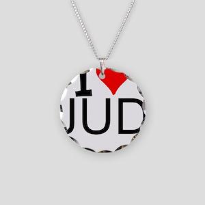I Love Judo Necklace