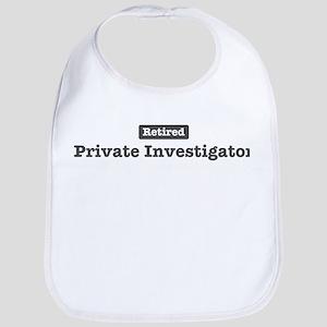 Retired Private Investigator Bib