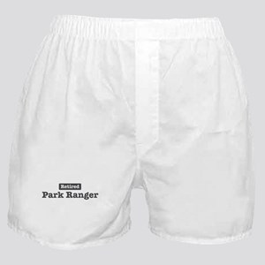 Retired Park Ranger Boxer Shorts