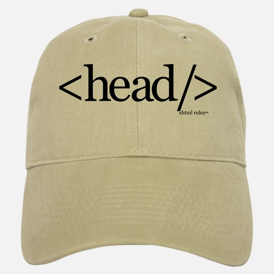 XHTML Head Tag Baseball Baseball Cap