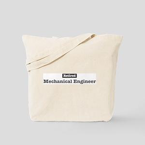 Retired Mechanical Engineer Tote Bag