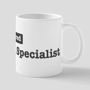 Retired Marketing Specialist Mug