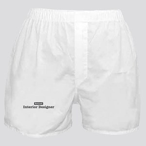 Retired Interior Designer Boxer Shorts
