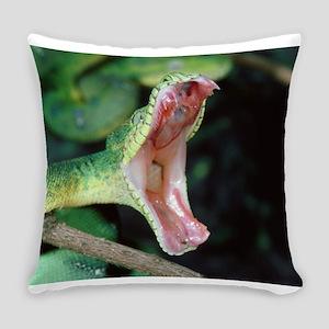 wild snake Everyday Pillow