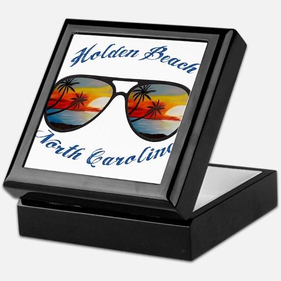North Carolina - Holden Beach Keepsake Box