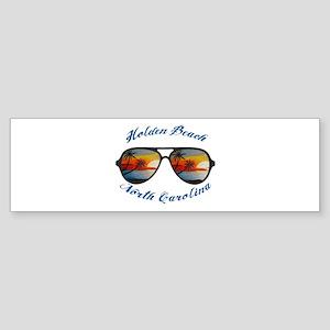 North Carolina - Holden Beach Bumper Sticker