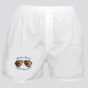 North Carolina - Holden Beach Boxer Shorts