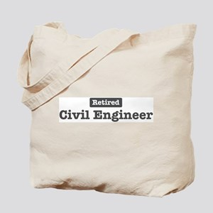 Retired Civil Engineer Tote Bag