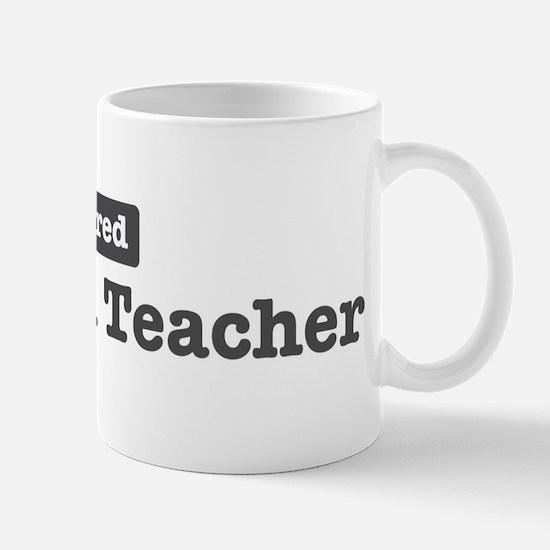 Retired Bilingual Teacher Mug
