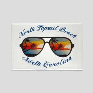 North Carolina - North Topsail Beach Magnets