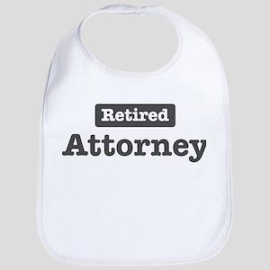 Retired Attorney Bib