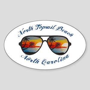 North Carolina - North Topsail Beach Sticker