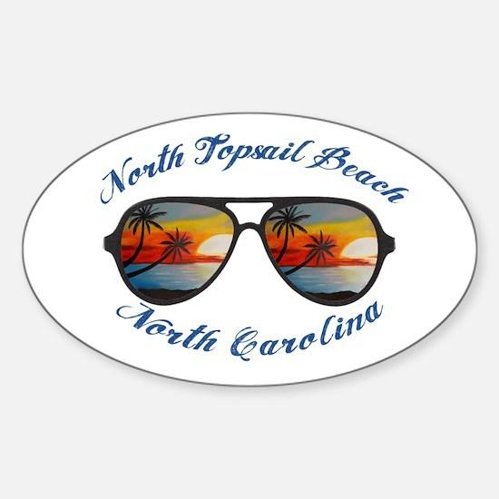 North Carolina - North Topsail Beach Decal