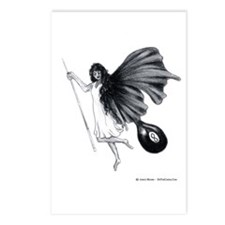 8 Ball Angel Postcards (Package of 8)