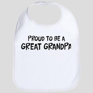 Proud to be Great Grandpa Bib
