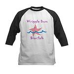 Wriggle Bum Starfish Kids Baseball Jersey