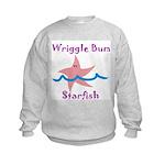 Wriggle Bum Starfish Kids Sweatshirt