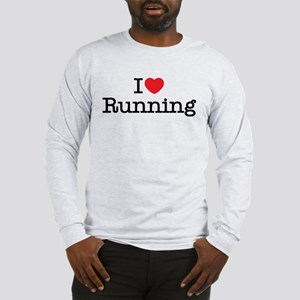 I love running Long Sleeve T-Shirt